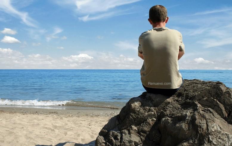 Thinking at beach @ scorpion26